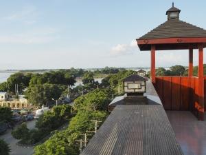 Aussicht vom Hoteldach