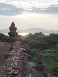 Blick über den Ayeyarwaddy