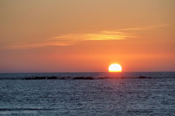 Sonnenuntergang in der Andamanensee 1