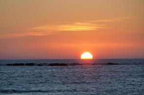 Sonnenuntergang in der Andamanensee 2