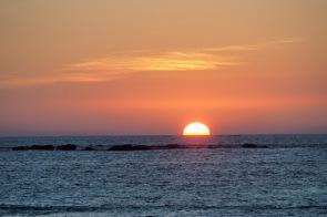 Sonnenuntergang in der Andamanensee 3