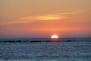 Sonnenuntergang in der Andamanensee 4