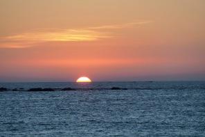 Sonnenuntergang in der Andamanensee 5