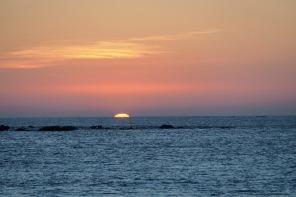 Sonnenuntergang in der Andamanensee 6