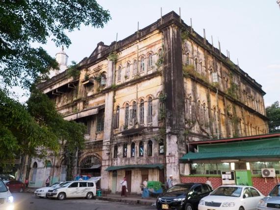 Noch eine Kolonial-Ruine