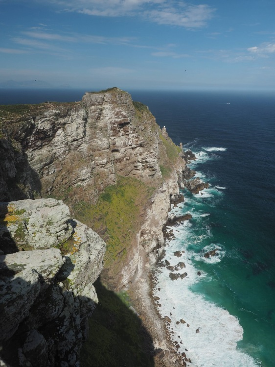 Kliffs von Cape Point
