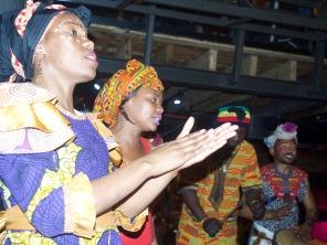 Heise afrikanische Rhythmen