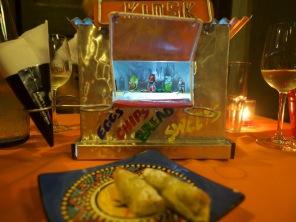 Nachtisch im Township-Kiosk